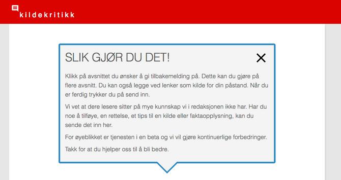 (Faksimile: Dagbladet.no)