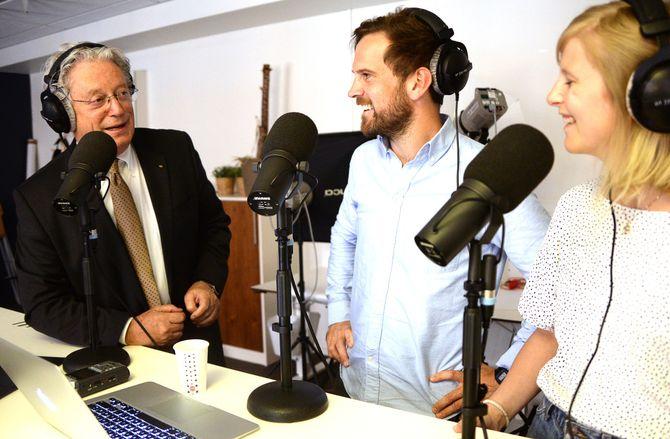 Christian Borch, Stig Arild Pettersen og Ingerid Salvesen.