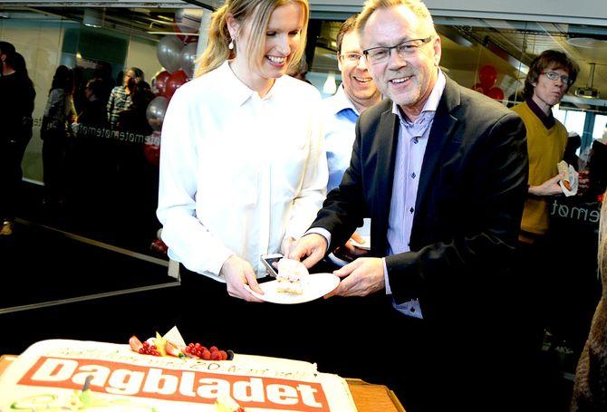 Sjefredaktør John Arne Markussen i Dagbladet. (Arkivfoto: Gard L. Michalsen)