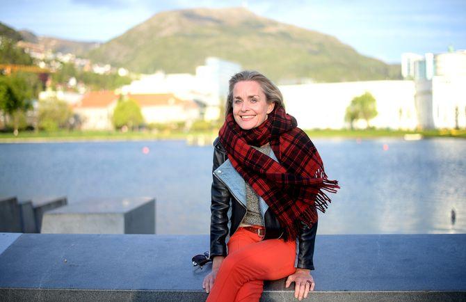 STERK OG KLAR: Hilde Sandvik i Bergen. (Foto: Gard L. Michalsen)