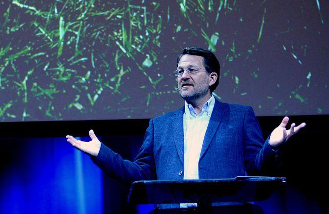 HARALD STRØMME, sjef for Discoverys TV-kanaler i Norge - og for tida også i Sverige. (Foto: Gard L. Michalsen)