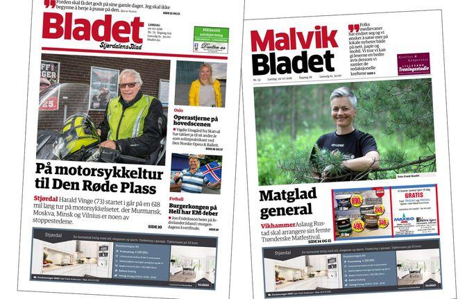 (Faksimile: Stjørdalens blad og Malvik-Bladet)