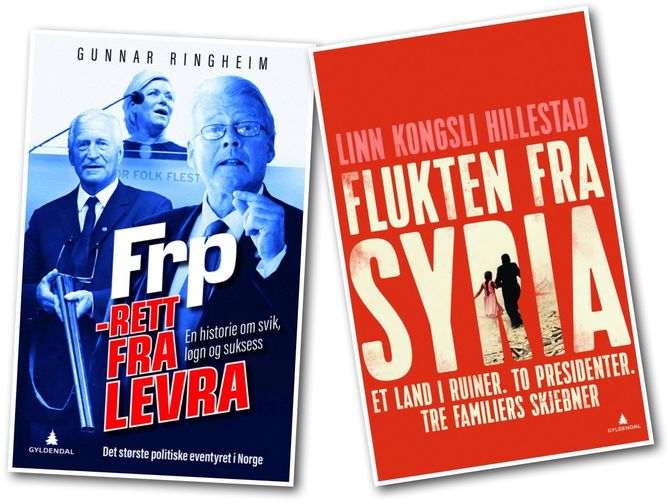 To av bøkene på Gyldendals høstliste.