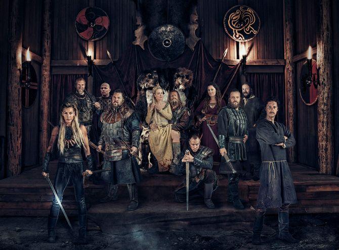 Denne gjengen lager humoristisk viking-drama på NRK.