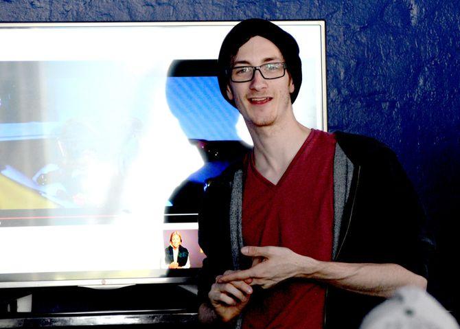 Truls Valsgård (22) har lyktes godt som youtuber.