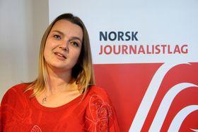 Leder Hege Iren Frantzen i Norsk Journalistlag.