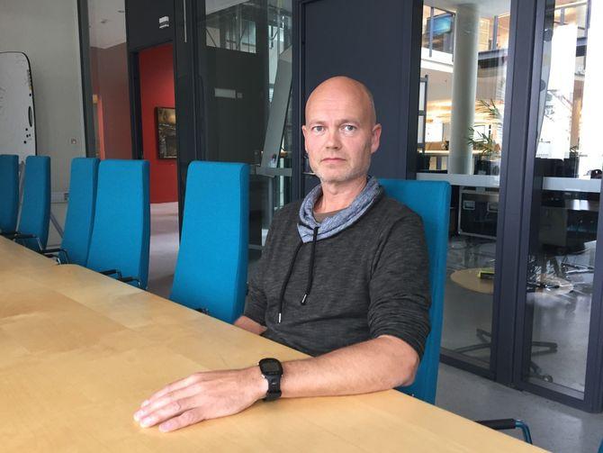 Klubbleder Jørn Helge Egset i Sunnmørsposten (Foto: Privat)