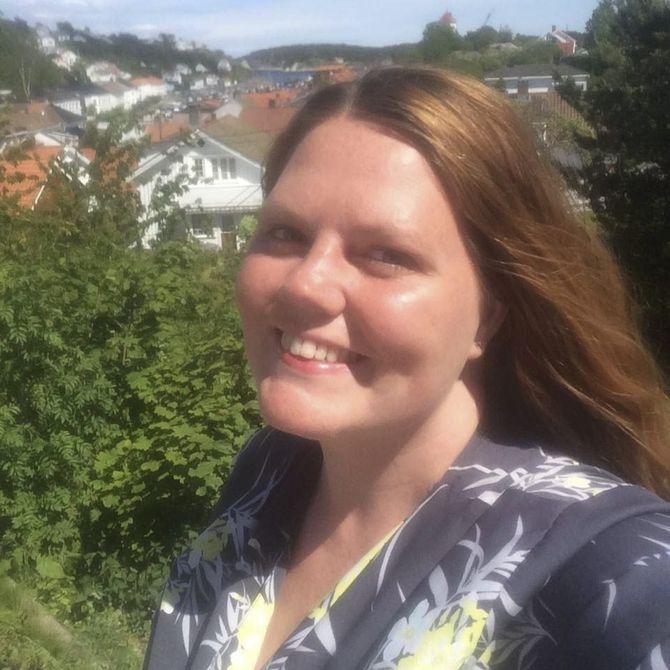 Redaktør Linda Helgesen Aslaksen i Aust-Agder Blad (Foto: Privat)