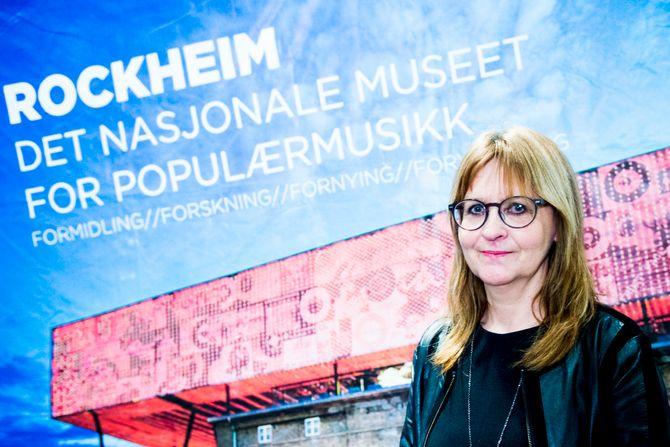 Rockheim-direktør Sissel Guttormsen.(Foto: Jon Olav Nesvold / NTB scanpix)