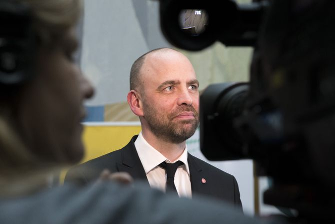 Mediepolitisk talsmann Arild Grande fra Arbeiderpartiet (Foto: Terje Bendiksby / NTB scanpix)