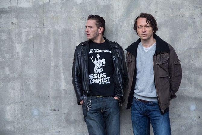 Kriseprat med Kristoffer Schau og Kyrre Holm Johannesen.
