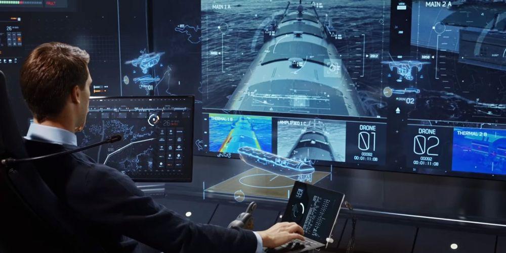 """Fjernstyring av skip er et steg på veien mot autonome skip. Mannskapet vil være på land og kan ha """"hyre"""" på flere skip."""