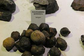 FREDET: Kulegabbro, populært kalt «potetsteinen», er nå fredet.