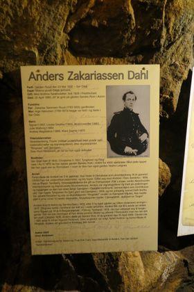 DRIVENDE KRAFT: Anders Zakariassen Dahl var den drivende kraft i Romsåsen Nikkelverk, men han eide i sin tid også Ringnes Skysstasjon og Tyrigraven.