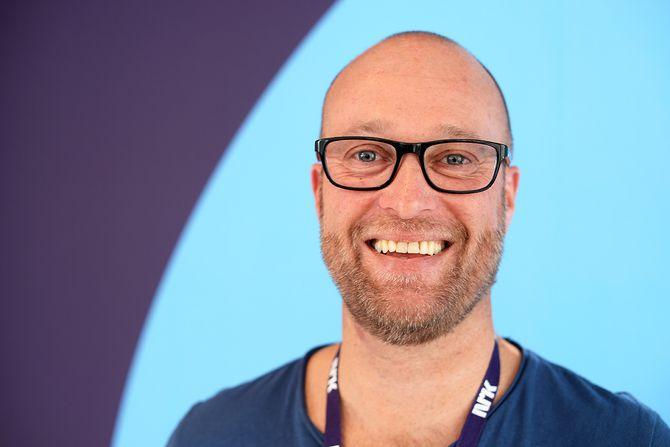 Sekretær Erik Skarrud i Kringkastingsrådet. (Foto: Erik Waatland).