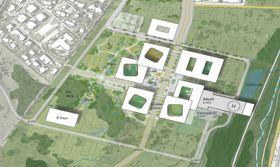 Det planlagte sykehuset i Stavanger skal plasseres ved frodige områder på Ullandhaug.