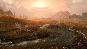 Slik skal Skyrim Special Edition se ut på PlayStation 4 Pro.
