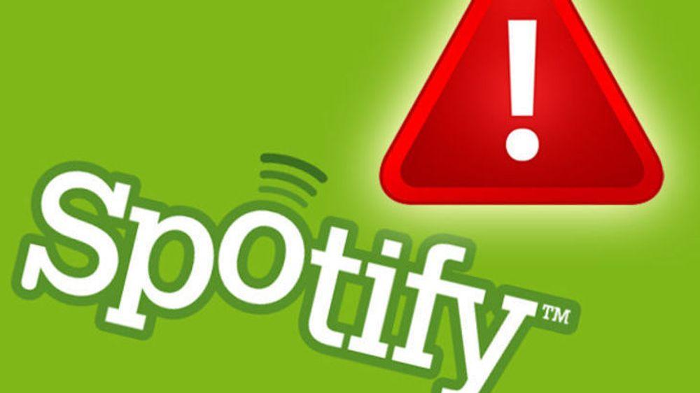 Spotify er igjen rammet av skadelige annonser, som er sendt til gratisbrukere med både Windows, Mac og Linux. Mobilutgaven av Spotify er ikke berørt i denne hendelsen.