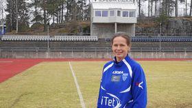 NØKTERN: Cecilie Berg-Hansen, hovedtrener for Kolbotn Kvinnefotball.