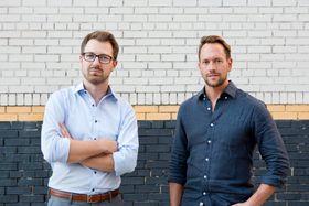 Gründerne Mads Uhlin Hansen og Mikael Clason Höök.