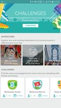 Via appen kan du ta ulike utfordringer.