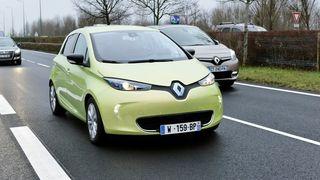 Renault tester selvkjørende Zoe