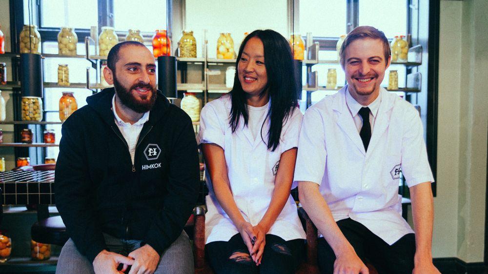Yunus Yildiz, Monica Berg og Joakim Olsson er verdens lykkeligste akkurat nå