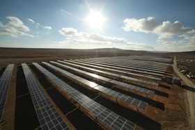 Scatec Solar startet byggingen av Oryx solparken på 10 MW i Jordan i 2015.