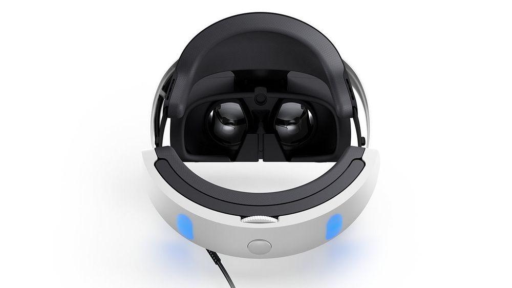 Spill og filmer uten VR-støtte projiseres på en skjerm inne i brillene.