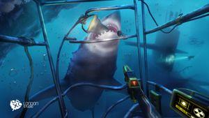 PlayStation VR Worlds byr på litt nærkontakt med en hai.