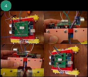 Prototype på roboten i teknlolabboksen som sendes ut til flere husstander i mars om prosjektet går i boks.