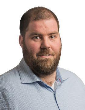 BER FOLK BEREGNE GOD TID: Kommunikasjonsrådgiver Øystein Dahl Johansen i Ruter.