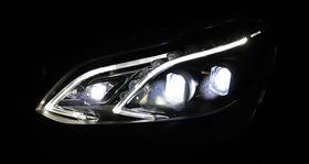 Lyset styres ved å manipulere lysdiodene.