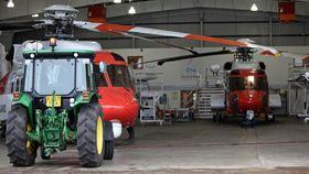 Tilsvarende sar-utrustede S-92-helikoptre skal sørge for beredskapen på norsk sokkel framover.