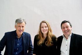 Listen AS: Daglig leder Snorre Vevstad, designerIngri Ørsal Skogsrød og CTORalph W. Bernstein.