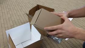 Det følger med opptil flere bokser i retur-pakken til Samsung.