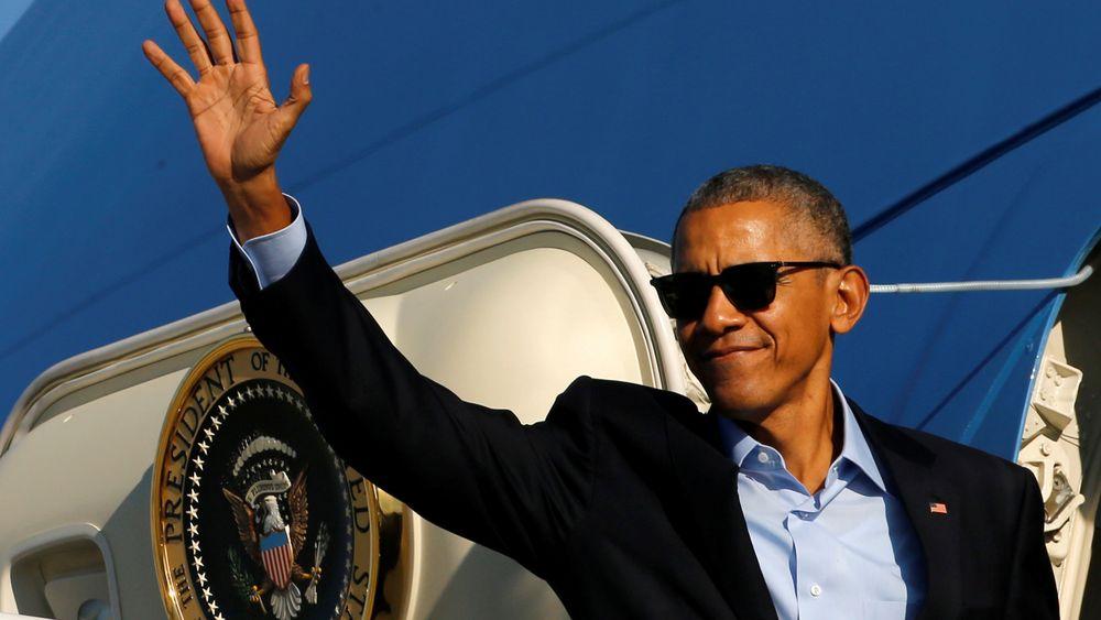 Truer med å hacke tilbake: USAs president Barack Obama. Illustrasjonsfoto.