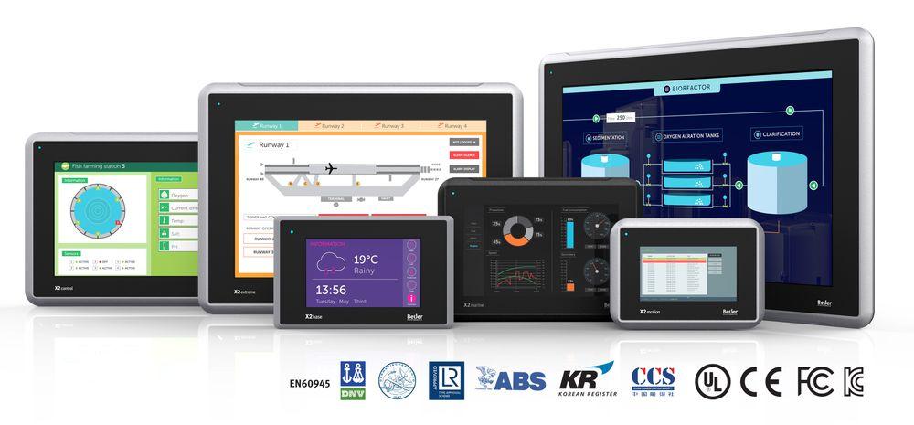 X2-serien HMI-paneler fra Beijer Electronics