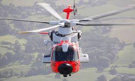 Testhelikopter nummer to var det første som ble lakkert i den norske redningtjenestens farger.