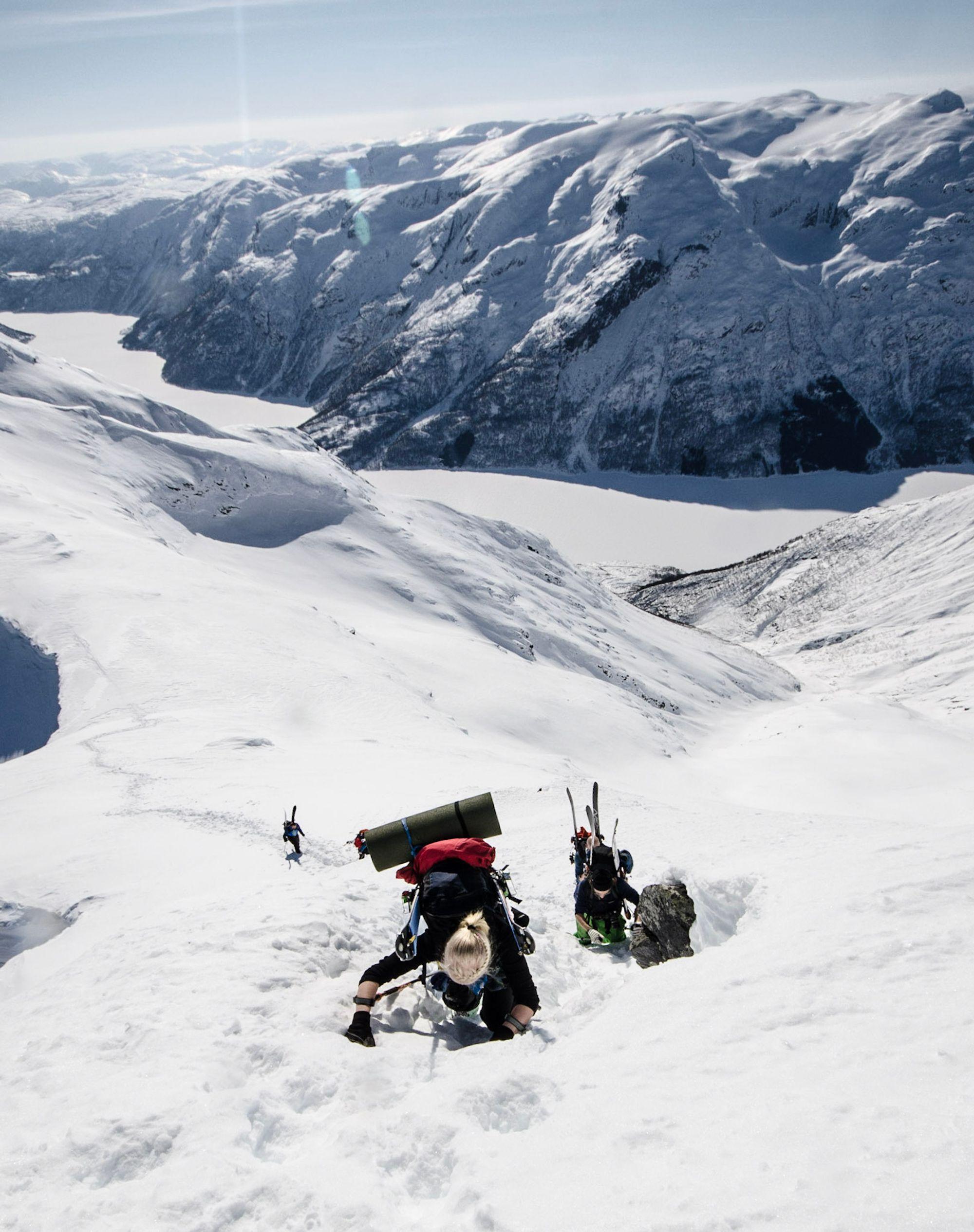 Topptur fra Sogndal, som ifølge Håvard Halvorsen er det beste stedet i landet hvis ønsket er flest mulig gode skidager.