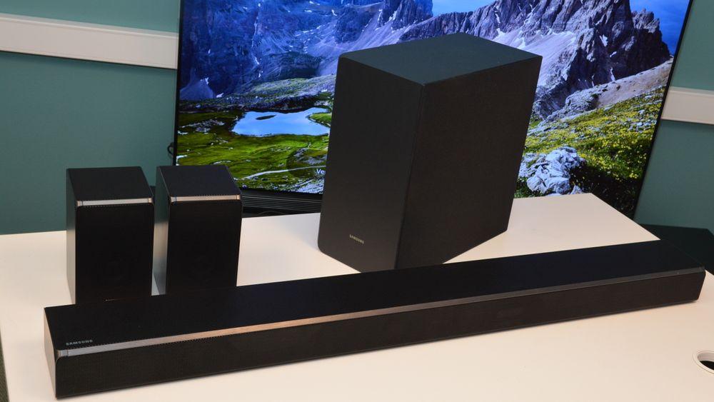 Samsungs nye lydplanke byr på Dolby Atmos