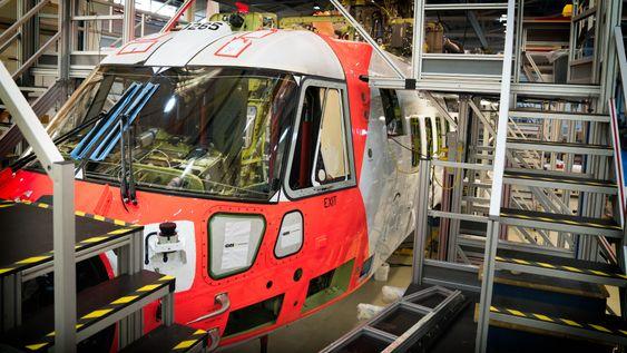 Dette er det ene helikopteret som skal begynne testing i Norge om et halvt år.