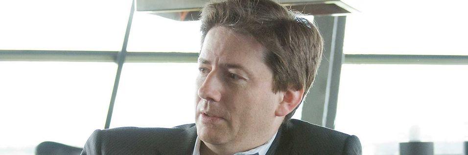 Teknisk direktør Marcus Weldon i Nokia sier den nye fartsrekorden for undersjøiske kabler er viktig for å møte etterspørselen etter data i framtida. .