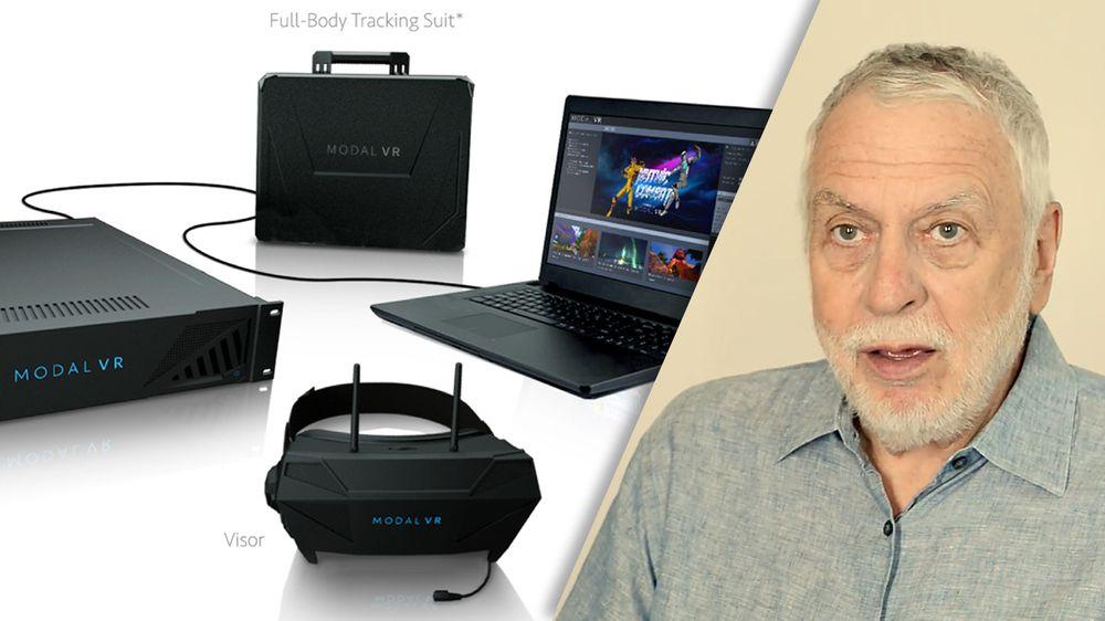 Nolan Bushnell er en av gründerne i selskapet Modal VR, som skal tilby VR-løsninger for bedrifsmarkedet.