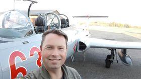 GIR SEG IKKE: Terje Traaholt i Russian Warbirds of Norway forteller at foreningen planlegger å kjøpe nye fly.