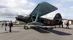 TRØSTEN: Antonov An-2 er for øyeblikket Russian Warbirds of Norways eneste fly.