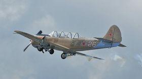 YAK52: Begge foreningens Yak-52 brant opp.