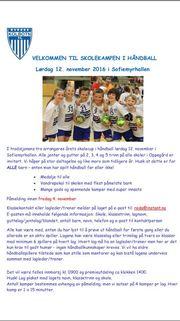 INFO: Her er infoplakaten fra Kolbotn Håndball. Klikk for høyoppløselig og stor versjon.