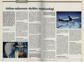 TU markerer 20-årsdagen for airbusstiftelsen i mai 1991.
