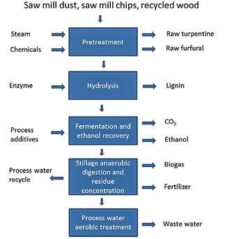 Prosessen: St1 har utviklet en prosess som frigjør sukkeret i tre slik at det kan fermenteres til etanol.